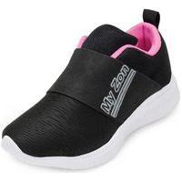 Tênis Myzon Infantil Mz20-348 Preto-Pink