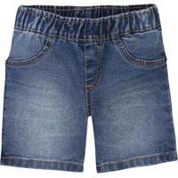 Bermuda Jeans Infantil Bebê Menino