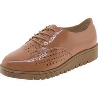 Sapato Feminino Oxford Beira Rio - 4174328 Salmão 35