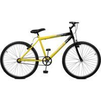 Bicicleta Master Bike Aro 26 Masculina Ciclone Amarelo