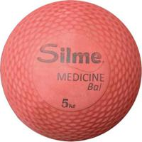 Medicine Ball De Borracha 5 Kg Silme - Unissex