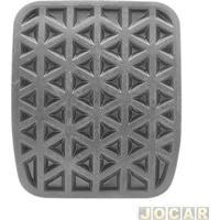 Capa De Pedal - Onix/Spin 2012 Em Diante - Cobalt 2011 Até 2015 - Freio/Embreagem - Cada (Unidade)