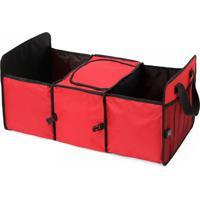 Organizador Carro C/ Área Térmica Vermelho Lorben Gt 461-R