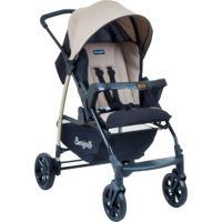 Carrinho De Bebê Travel System Ecco + Touring Evolution Se Bege