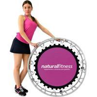 Mini Jump Profissional Trampolim + Dvd De Aula Natural Fitness - Unissex