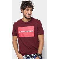 8d024c0c45d8b ... Camiseta Calvin Klein Estampa Logo Masculina - Masculino