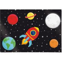 Acessórios Para Festa - Painel Decorativo - 66X46 Cm - Astronauta - Cromus