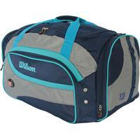 Bolsa Esportiva- Azul Cinza- 54X34X71Cm- Wilsowilson