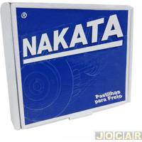 Pastilha Do Freio - Nakata - Fiesta 1.0-1995 Até 2007-Exceto Supercharger - Ka 1.0/1.3 - 1997 Até 2007 - Sem Abs - Dianteiro - Jogo - Nkf1051P
