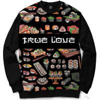 Blusa Bsc True Love Full Print - Masculino