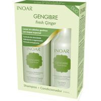 Kit Inoar Gengibre Shampoo + Condicionador 250 Ml.