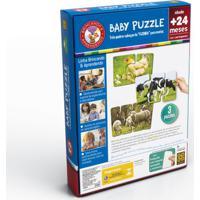 Quebra-Cabeça - Baby Puzzle 2 - Grow - Unissex-Incolor