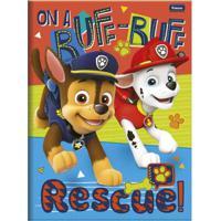 Caderno De Brochurão - Caligrafia - Patrulha Canina - 96 Folhas - Rescue - Foroni