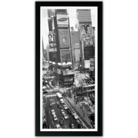Quadro Times Square Kapos Preto 54X27Cm