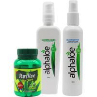 Kit Para Tratamento Completo Da Acne