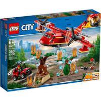 Lego City - Avião De Combate Ao Fogo - 60217