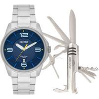 Kit Relógio Masculino Orient Mbss1288 K252D2Sx