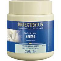 Máscara Hidratante Neutro Proteeínas Do Leite 250G Bio Extratus
