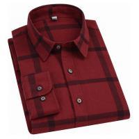 Camisa Xadrez Durhan Masculina - Vermelha