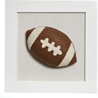Quadro Decorativo Bola Futebol Americano Potinho De Mel Bege