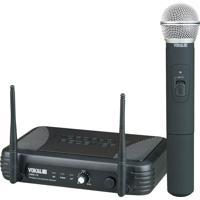 Microfone Vokal De Mão Uhf Vwr15M Preto