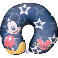 Almofada Para Viagem Mickey Mouse Starâ®- Preta & Vermelhfom