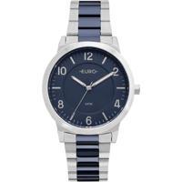 Relógio Feminino Euro Eu2036Ylx/5K Pulseira Aço - Feminino-Prata
