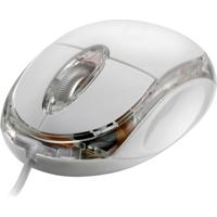Mouse Multilaser Usb Classic Gelo - Mo034 - Unissex