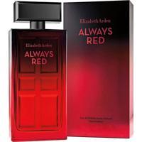 Perfume Always Red Feminino Elizabeth Arden Edt 100Ml - Feminino-Incolor