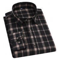 Camisa Xadrez Blandford Flanelada Masculina - Preto