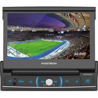 Dvd Player Positron Sp-6720 Dtv Tela Retratil De 7 Polegadas Usb / Sd/ Mp3 / Touch