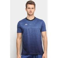 Camiseta Kappa Trivento Masculina - Masculino-Azul Royal