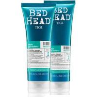 Shampoo 250Ml + Condicionador Bed Head Tigi Recovery 200Ml - Unissex-Incolor