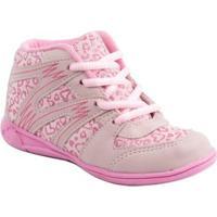 Sneaker Pam Plim For Girl - Feminino-Rosa