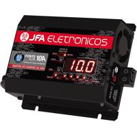 Fonte Carregador Bateria 10A Automatico DisplayJfa Bivolt