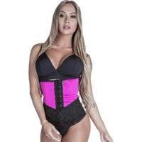 Cinta Modeladora Curta - Feminino-Pink