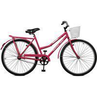 Bicicleta Master Bike Aro 26 Feminina Kamilla Contrapedal Rosa