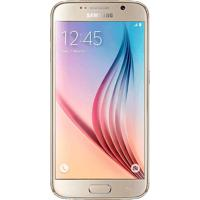 "Smartphone Samsung Galaxy S6 G920 Dourado - 64Gb - 4G Lte - Octa Core - Câmera 16Mp - Super Amoled 5.1"" - Android 5.0"