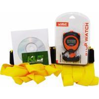 Kit Kl Master Escada Agilidade Cronômetro Digital E Dvd - Unissex