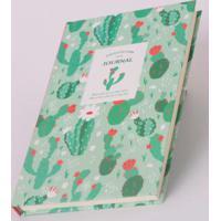 Caderno Flor De Cactosverde