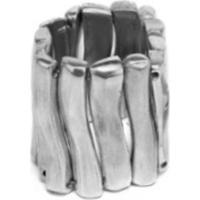 Bracelete Vestopazzo Largo Feminino - Feminino-Prata
