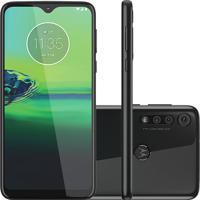 Celular Moto G8 Play Preto Ônix 32Gb Câmera Tripla + Capa + Película Motorola