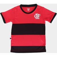 Camiseta Infantil Flamengo Jogo - Masculino