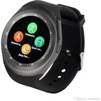 Relógio Smartwatch Y1 Original Celular Inteligente Touch Bluetooth Chip Ligações Câmera - Unissex