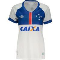 Camisa Umbro Cruzeiro Oficial Blaa Vikingur 2018 Feminino - Feminino