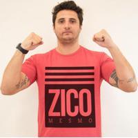 Camiseta Flamengao Zico Mesmo Zé Carretilha Masculina - Masculino