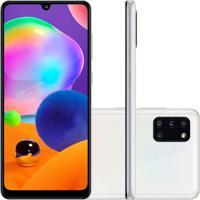 Smartphone Samsung Galaxy A31 128Gb 4Gb Ram A315 Branco