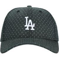 Boné Aba Curva New Era 940 Los Angeles Dodgers Polka - Snapback - Adulto -  Preto b27b03232d0