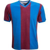 Camisa Liga Retrô San Lorenzo 1946 - Papa Francisco - Masculino