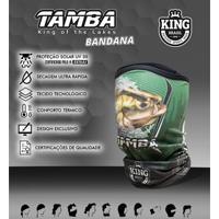 Bandana King Brasil Com Proteção Uv - Tambaqui 304 Verde - Kanui